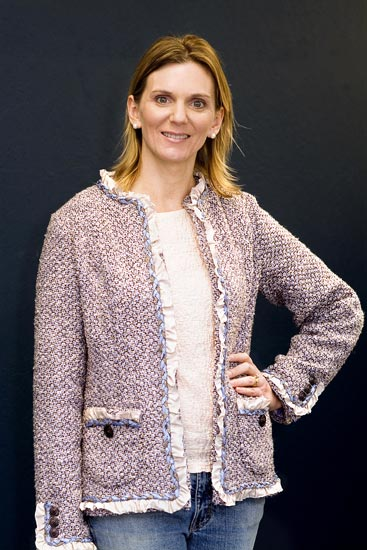 Couture jacket created in Jane Foster's Design Studio
