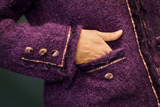 Detail of Couture Jacket