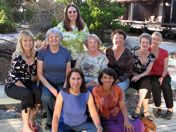 Sewing retreat with Jane Foster to Monterey Bay