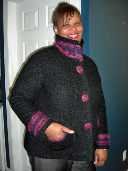 Boucle Jacket Pattern Jacket From Wool Boucle