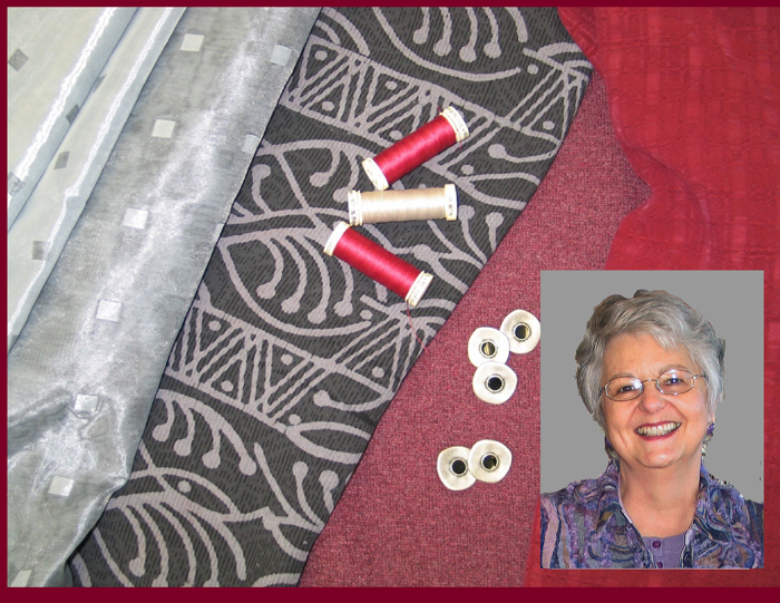 Sewing classes with Jane Foster, sewing teacher