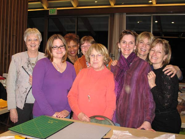 Asilomar sewing retreat with Jane Foster