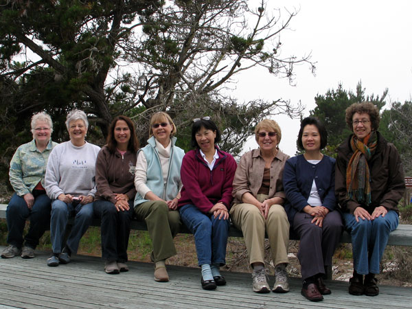 Another group of ladies on a sewing retreat in CA