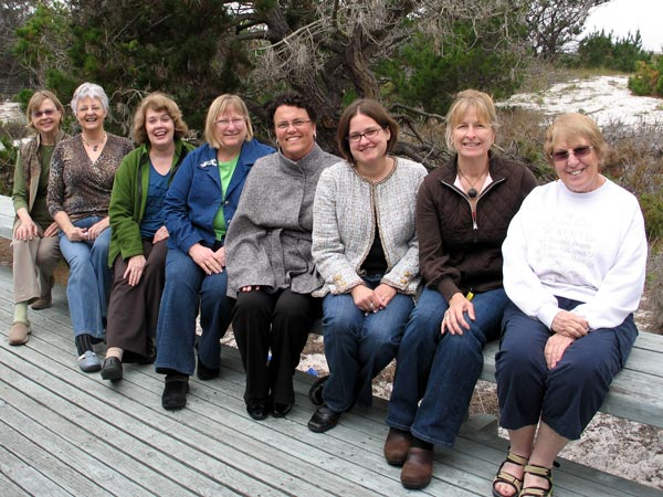 Sewing retreat in CA on Monterey Bay with Jane Foster spring 2009